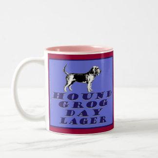 Hound Grog Day Blue Lager Mugs