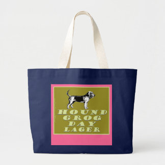 Hound Grog Day Gold Lager Tote Bags