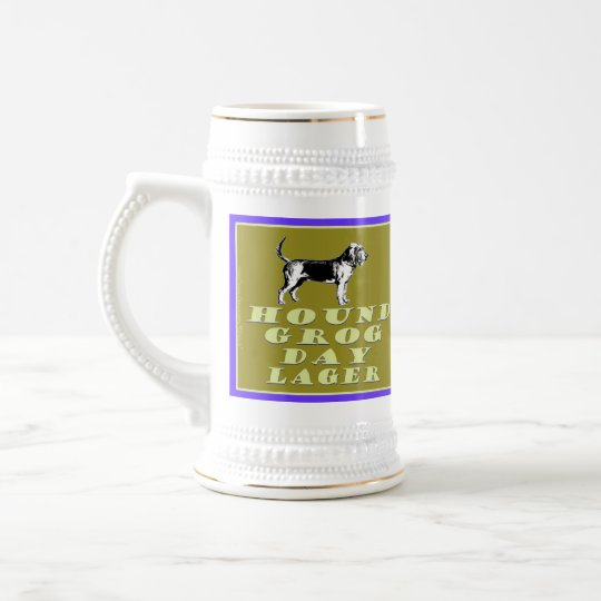 Hound Grog Day Gold Lager Fully Customizable Beer Beer Stein