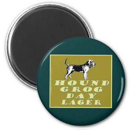 Hound Grog Day Gold Lager Magnet