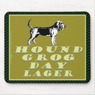 Hound Grog Day Gold Lager Mouse Pad