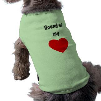 Hound of my heart doggie t-shirt