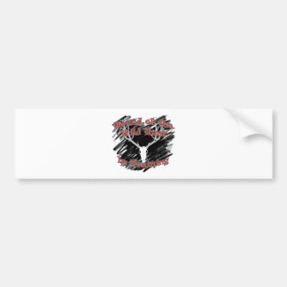 Hound of the Wild Hunt In Training Collection Bumper Sticker