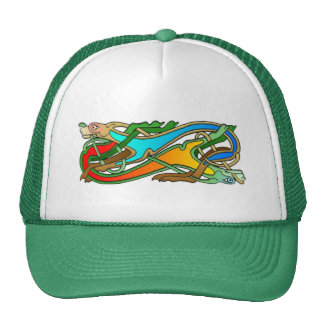 Hounds Celtic Knots Truckers Hat