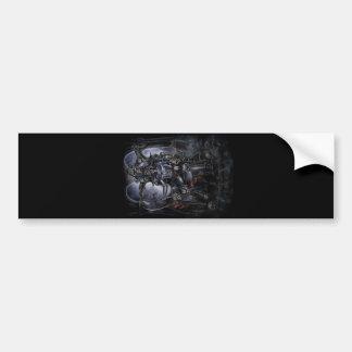 Hounds of Hell Car Bumper Sticker