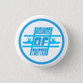 Hounds of Twitter Pinback Button