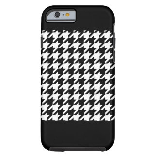 Hounds tooth pattern tough iPhone 6 case