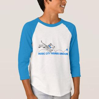Hounds Unbound kid's 3/4 jersey. T-Shirt