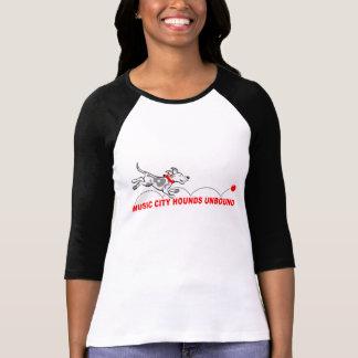 Hounds Unbound women's 3/4 sleeve jersey. T-Shirt