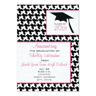 Houndstooth 2013 Graduation Announcement