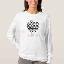 Houndstooth Apple Teacher T-Shirt