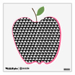 Houndstooth Apple Wall Decal