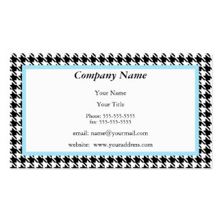 Houndstooth Appointment Reminder Card