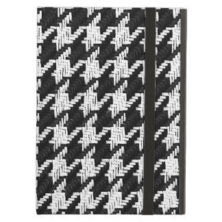 houndstooth - black and white cover for iPad air