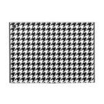 Houndstooth blanco y negro de muy buen gusto iPad mini coberturas