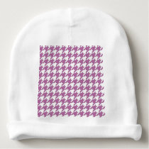 houndstooth bodacious and white baby beanie