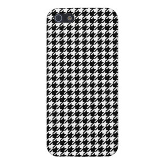 Houndstooth Case For iPhone SE/5/5s