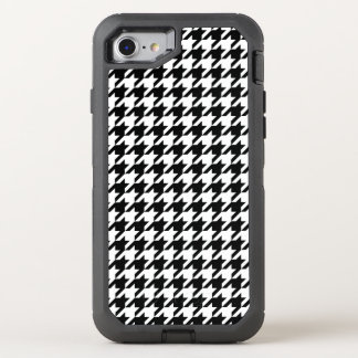 Houndstooth check pattern design background OtterBox defender iPhone 7 case