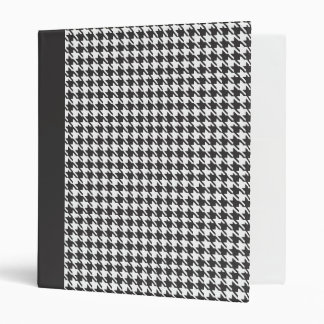 Houndstooth Classic 3 Ring Binders