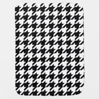Houndstooth classic pattern updated version swaddle blanket