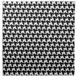 Houndstooth Cloth Dinner Napkins - Set Of 4