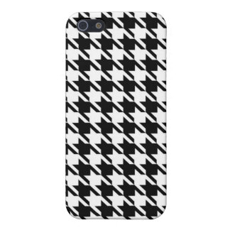 Houndstooth Cover For iPhone SE/5/5s