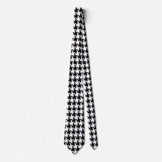 Houndstooth De varios colores-de-Poule Pattern Mod Corbatas Personalizadas