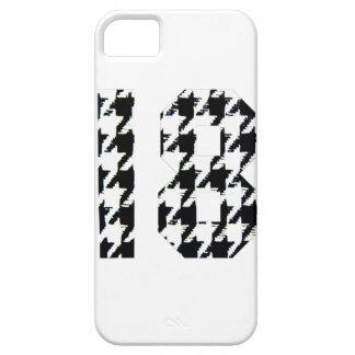 Houndstooth dieciocho iPhone 5 cárcasas