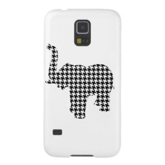 Houndstooth Elephant Galaxy S5 Cover