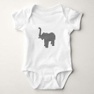 Houndstooth Elephant Shirt