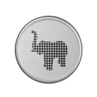 Houndstooth Elephant Speaker