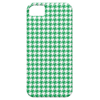 Houndstooth GREEN ANY COLOR BACKGROUND iPhone SE/5/5s Case