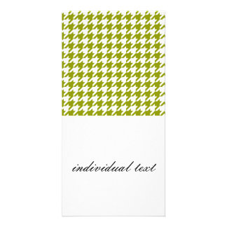 houndstooth green (I) Card