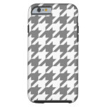 Houndstooth gris