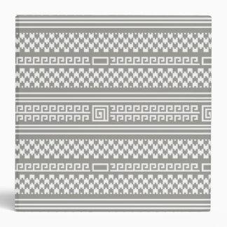 Houndstooth gris y blanco con espirales