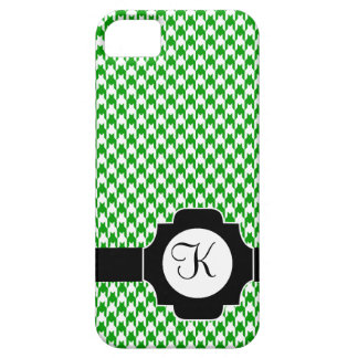 Houndstooth Initial iPhone SE/5/5s Case