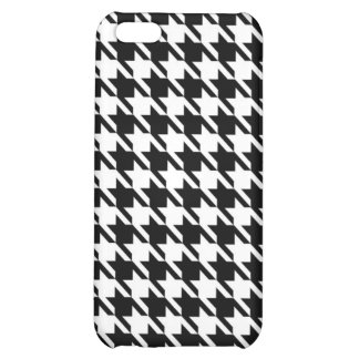 Houndstooth iPhone 5C Cases