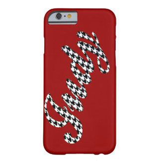 Houndstooth Judy conocido Funda De iPhone 6 Barely There