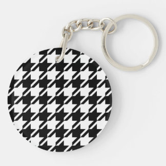 Houndstooth Key Chain