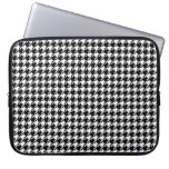 Houndstooth Laptop Computer Sleeve