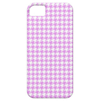 Houndstooth LAVENDER ANY COLOR BACKGROUND iPhone SE/5/5s Case