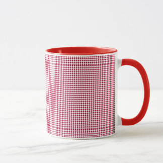 Houndstooth Mug pattern, select size and design