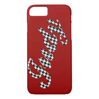 Houndstooth Name Judy iPhone 8/7 Case