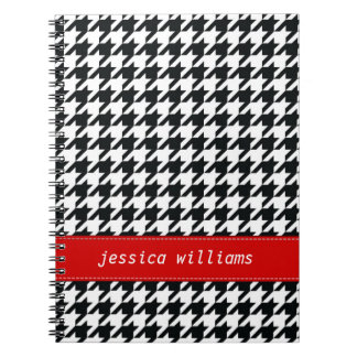 Houndstooth Note Books