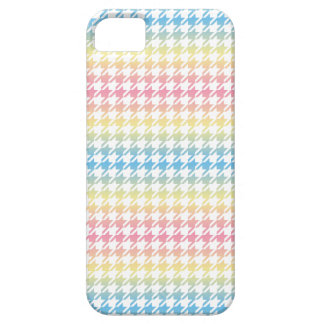 Houndstooth PASTELS ANY COLOR BACKGROUND iPhone SE/5/5s Case