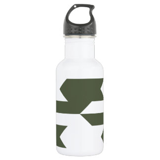 Houndstooth Pattern 1 Cypress Stainless Steel Water Bottle