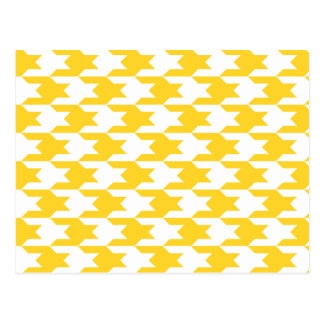Houndstooth Pattern 1 Freesia Postcard