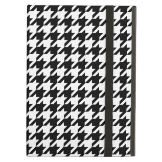 Houndstooth Pattern Black And White Case For Ipad Air at Zazzle