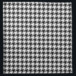 "Houndstooth Pattern Black and White Napkin<br><div class=""desc"">A trendy black and white houndstooth pattern.</div>"