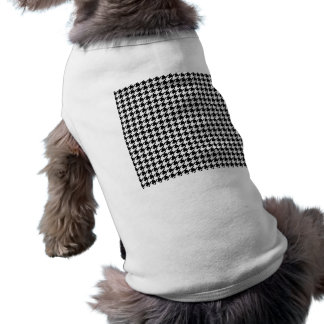 Houndstooth pattern - Black and white Tee